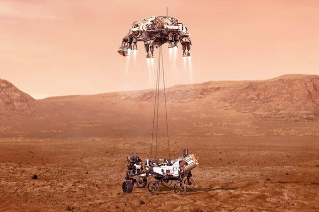Προσεδαφίστηκε το Perseverance στον Άρη