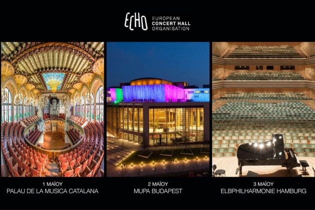 Από το Facebook του Μεγάρου Μουσικής στις μεγάλες αίθουσες συναυλιών της Ευρώπης